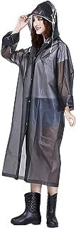 FakeFace-niñas portátil translúcido lluvia Mac con capucha Gabardina larga Mac con manteles individuales de manga larga ...