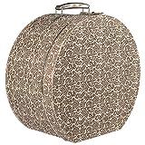 Lierys Caja para Sombrero de Flores Mujer/Hombre - Verano/Invierno - Talla única Beige