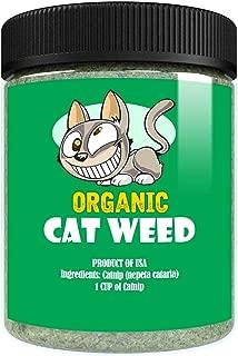 Cat Weed Organic Catnip has Maximum Potency Premium Blend Nip That Your Cats to Go Crazy Over