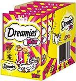 Dreamies Katzensnacks Katzenleckerli Mix mit Käse & Rind, 6 Packungen (6 x 60 g)