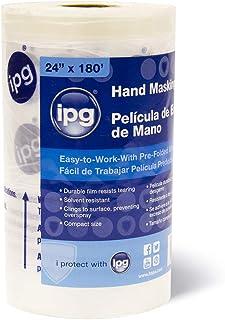 "IPG HMF48 Hand Masking Film, 48"" x 180 ft, Clear"