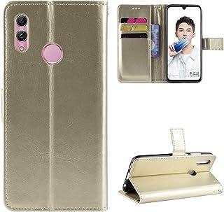 LODROC Huawei P Smart 2019/Honor 10 Lite hoes, TPU lederen hoes magnetische beschermhoes [kaartenvak] [standfunctie], stoo...