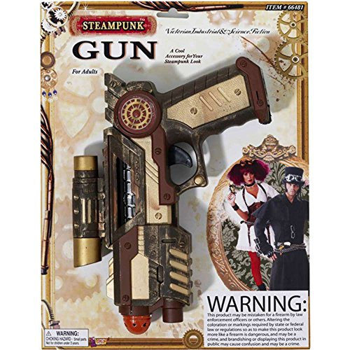 Size: Standard Toy gun Bronze, bown, and gold Attached scrope for spotting targets