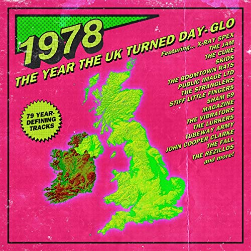 1978 ~ The Year The UK Turned Day-Glo: 3CD Capacity Wallet