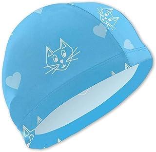 Gorros de baño Azules para niños Gorra de baño para niños