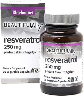 Bluebonnet Nutrition Beautiful Ally Resveratrol 250mg, Best for Skin, Antioxidant, Beauty Nutrient, Vegan, Vegetarian, Non...