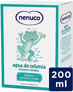 Nenuco Agua de Colonia recomendado para bebés fragancia original - formato de cristal 200 ml (61013)