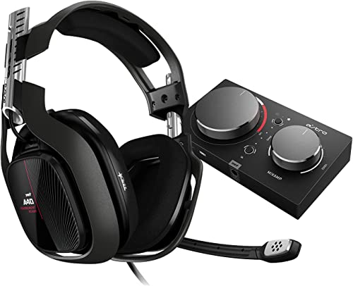 ASTRO Gaming A40 TR Wired Headset + MixAmp Pro TR with Dolby Audio for Xbox Series X | S, Xbox One, PC & Mac
