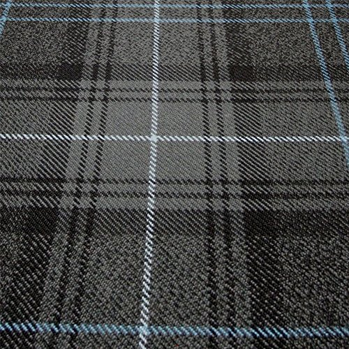 I Luv Ltd Ramsay Blue Modern Clan 100% Wool Scottish Tartan Tie