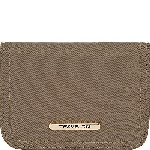 TRAVELON RFID スキミング防止カード入れ travelon トラベロン 43244 (ベージュ)