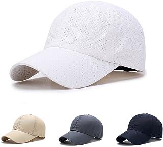 メッシュキャップ Yucciggi メンズ ゴルフ 帽子 キャップ 帽子 ハニカム構造エアーキャップ 人気 キャップ 通気性抜群 日除け帽子 UVカット速乾 軽薄 日よけ野球帽,登山 釣り ゴルフ 運転 アウトドアなどにメッシュ帽 メンズ レディース 無地
