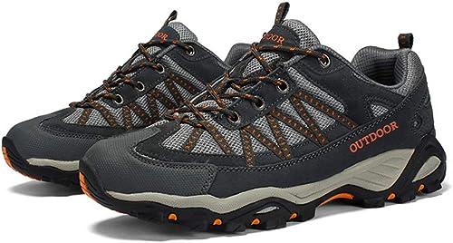 Chaussures de randonnée randonnée en Plein air Anti-dérapant pour Hommes  qualité authentique