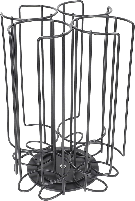 Cabilock Cup Holder Black Iron favorite Stor Display Carousel Pods Coffee Regular dealer