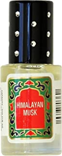 Himalayan Musk Perfume Oil Roll-On - Himalayan Musk Fragrance Oil Roller (No Alcohol) Perfumes for Women and Men by Nemat Fragrances, 5 ml / 0.17 fl Oz