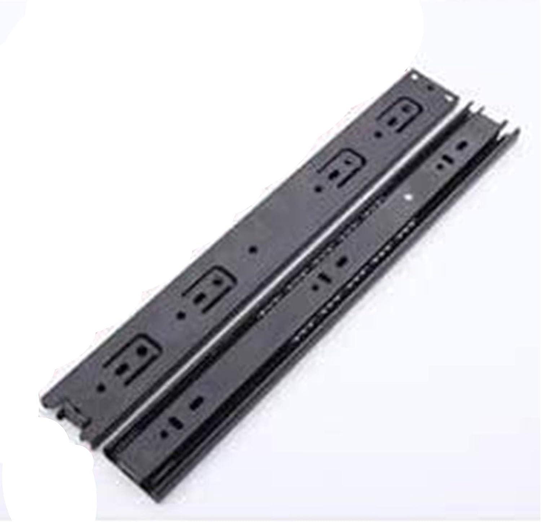 YDSHOLL X2 Silent Drawer Credence Slide Max 54% OFF Furniture Ball Rail Bearing Slid