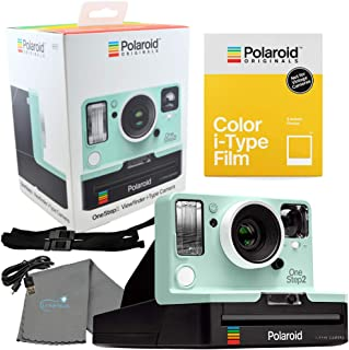 Polaroid Mint OneStep2 Viewfinder VF i-Type Camera 9007 Bundle with a Color i-Type Film Pack 4668 (8 Instant Photos) and a Lumintrail Cleaning Cloth