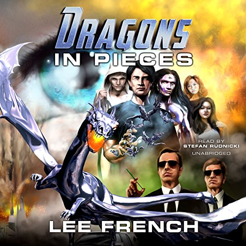 Dragons in Pieces audiobook cover art