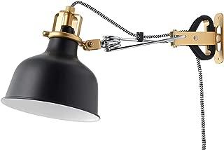 Ikea Wall Lamp Clamp Spotlight Ranarp (Black)
