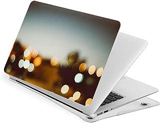 【最新 設計】Macbook New Air13/Air13/Touch13/Touch15 専用 付き プラスチック ハードケース 保護 シェルカバー 耐衝撃 超薄型 最軽量 (スターライト)