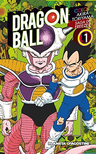 Dragon Ball Color Freezer nº 01/05: Saga de Freezer (Manga Shonen)