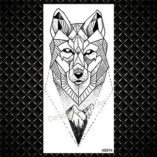 Aquarel kinderen tijdelijke tattoo vos mannen en vrouwen tattoo wegwerp planeet ruimte bloem kinder dromenvanger tattoo-GM...