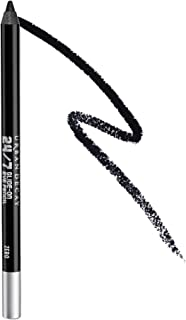 Urban Decay 24/7 Glide-On Eyeliner Pencil, Zero - Zealous Black with Cream Finish - Award-Winning, Waterproof Eyeliner - Long-Lasting, Intense Color
