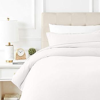 Thread Spread True Luxury 100% Egyptian Cotton - Genuine 1000 Thread Count - (1 PC Queen/Full Duvet Cover, White)