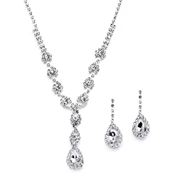 SPECIAL OFFER ITEM**BRIDAL//WEDDING XMAS  Crystal//Diamonte Necklace Set **9**