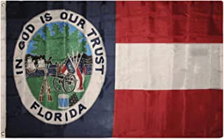 Florida Republic Flag 3'x5' 1861 1st State Banner by Flagmaster