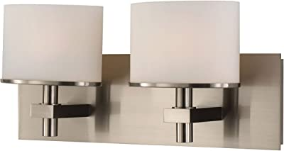 WAC Lighting WS-26714-AL Cliffhanger LED Wall Sconce in Brushed Aluminum 14 Inches
