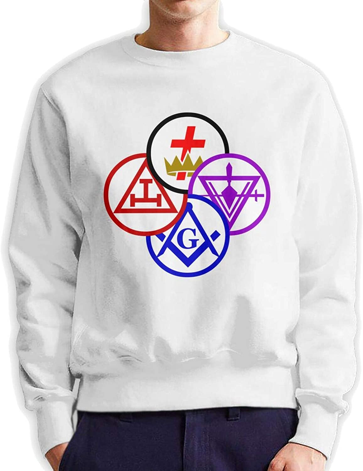 Some reservation Gifts York Rite Templar Royal Arch Round Mens Pullov Top T-Shirt Hoody