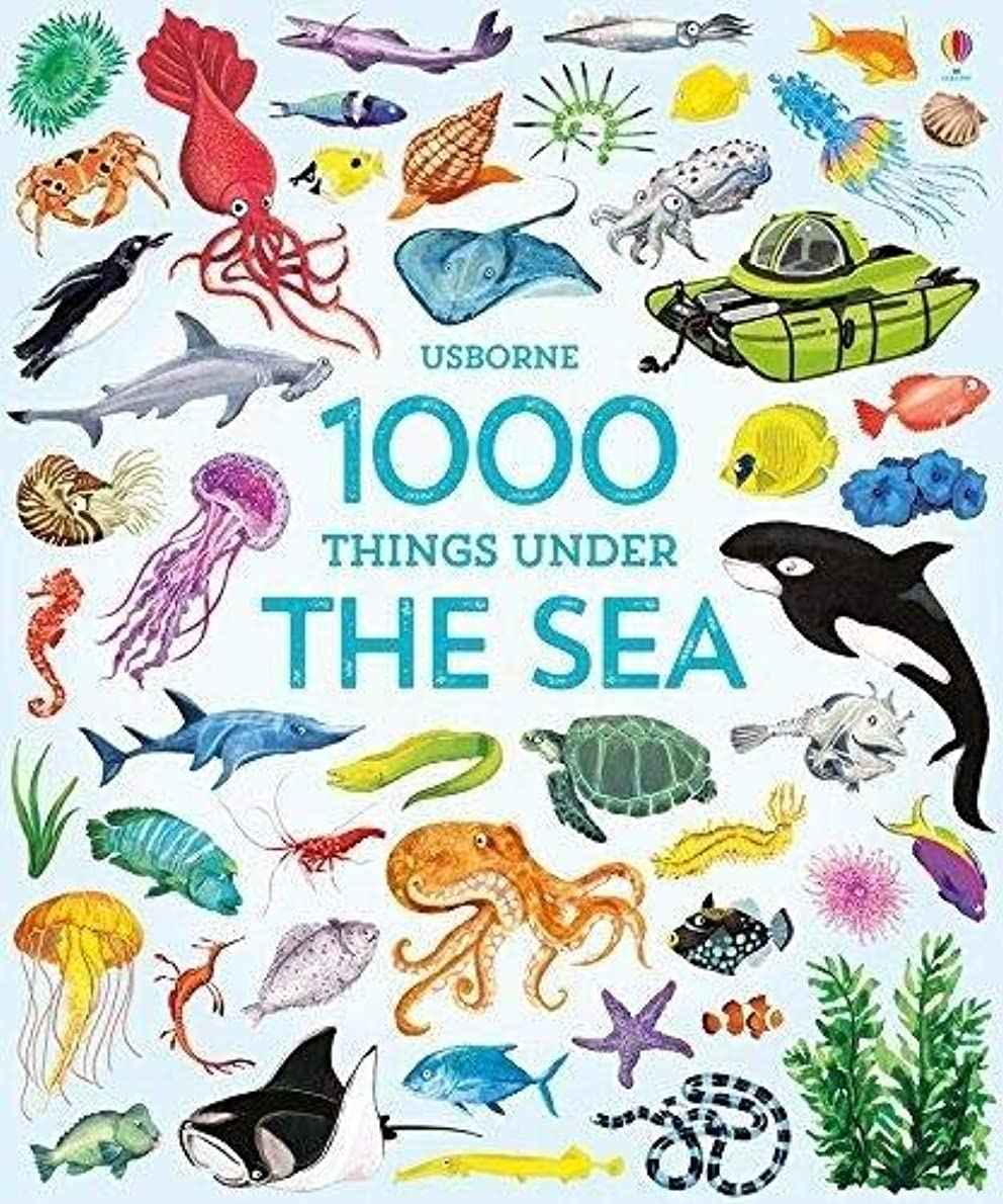 しばしば明らか学校の先生1000 Things Under the Sea (1000 Pictures)