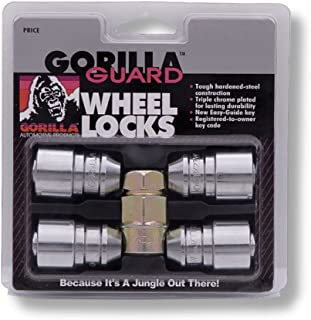 Gorilla Automotive 61621 Acorn Gorilla Guard Locks (12mm x 1.25 Thread Size) - Pack of 4