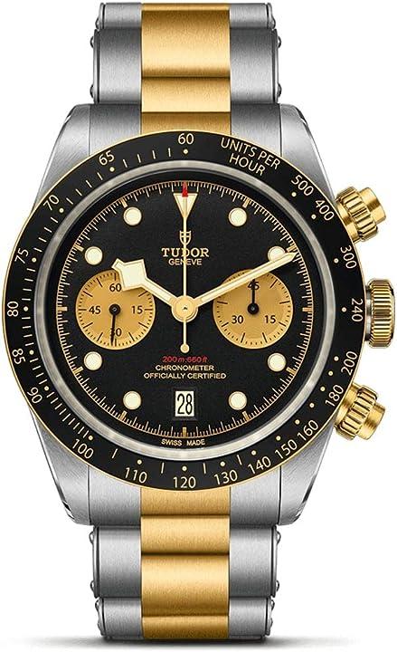 Orologio tudor black bay cronografo s&g oro acciaio M79363N-0001