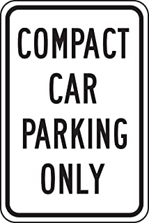Accuform FRP189RA Engineer-Grade Reflective Aluminum Parking Sign, Legend