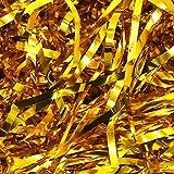 GRESATEK Papel de seda triturado iridiscente de 100 g para rellenar cestas, envolver regalos y rellenar cestas