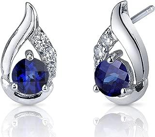 cornflower blue ceylon sapphire ring