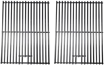 Cookingstar 2pack Solid Stainless Steel Cooking Grates, Replacement Parts Kits for Charbroil 463411512, 463411712, 463411911, C-45G4CB, 720-0719BL, 720-0773 and Master Forge 1010037