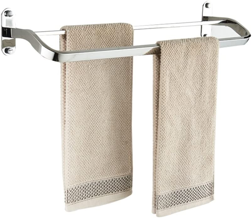 WHZG Towel Bar 304 Stainless Ranking TOP4 Rack Wall Steel store Double-Height