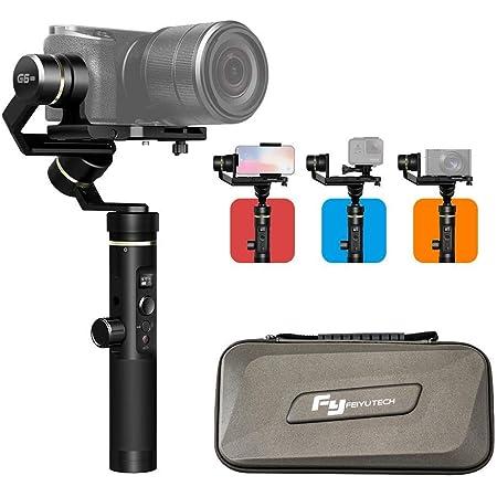 Feiyutech G6 Plus Handheld 3 Achsen Stabilisator Gimbal Kamera