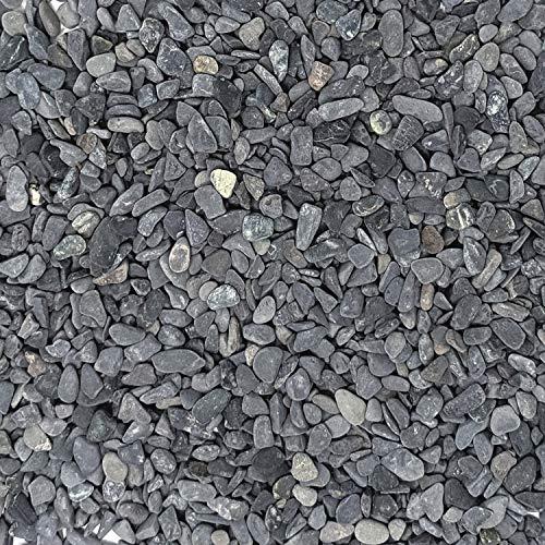 "Midwest Hearth Natural Decorative Gray Bean Pebbles 1/5"" Size (5-lb Bag)"