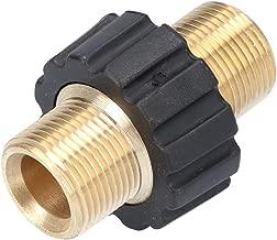10x Tuercas insertos de presion laton para termoplastico rosca M5 9.5mm C19137 AERZETIX