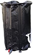 GJH One Collapsible Rain Water Tank Container Barrel Collector Storage Spout 66 Gallon