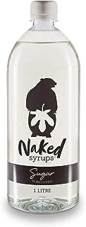 Naked Syrups, Liquid Sugar, Beverage Flavouring, 1L