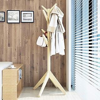 Amazon.es: colgador de ropa pared madera - Percheros ...