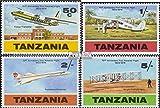 Prophila Collection Tanzania 117-120 (Completa.edición.) 1978 vuelos con Motor el Gebrüel Wright (Sellos para los coleccionistas) Aviación