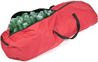 Santa's Bags [Rolling Duffle Bag Tree Storage Bag] - Wheeled 7.5 Foot Christmas Tree Storage Bag for Artificial Trees up to 7-1/2 Feet Tall - Great for Garland Storage Too
