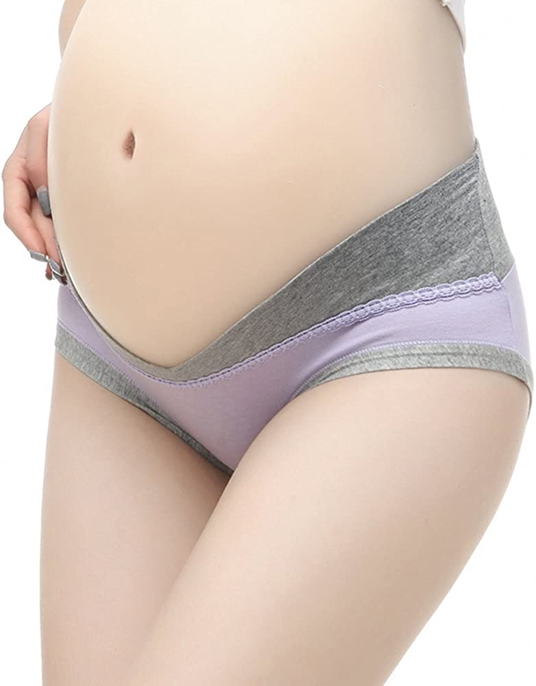 Sept.Filles Cotton Maternity Pregnant Mother Under Bump Panties in Multi Packs /…