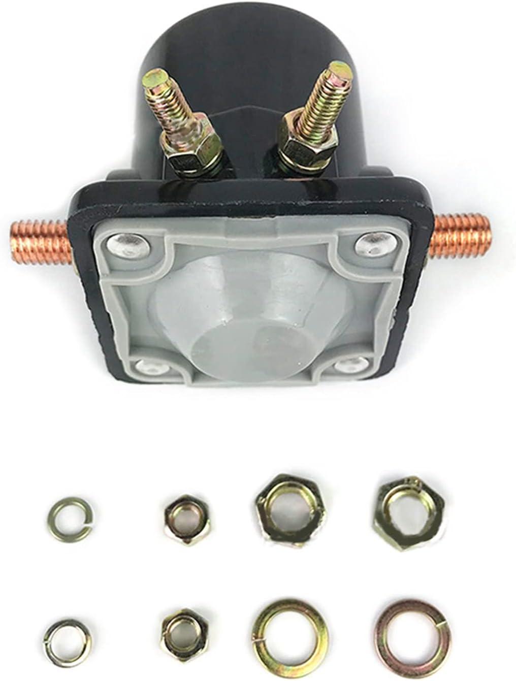 Shutters Interruptor de relé de solenoide de Inicio de 12V Compatible con Johnson -OV Evinrude Outboard Motor Reemplazar Fit para 383622 395419 582708 (Color : Reds)