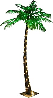 LIGHTSHARE Lighted Palm Tree, Small
